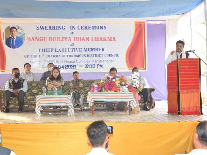 Chakma Council chairman