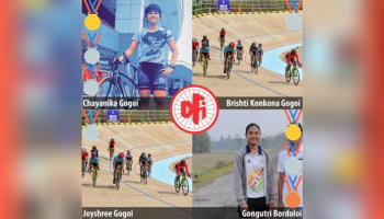 Assam women win 5 medals at National Track Cycling Championships