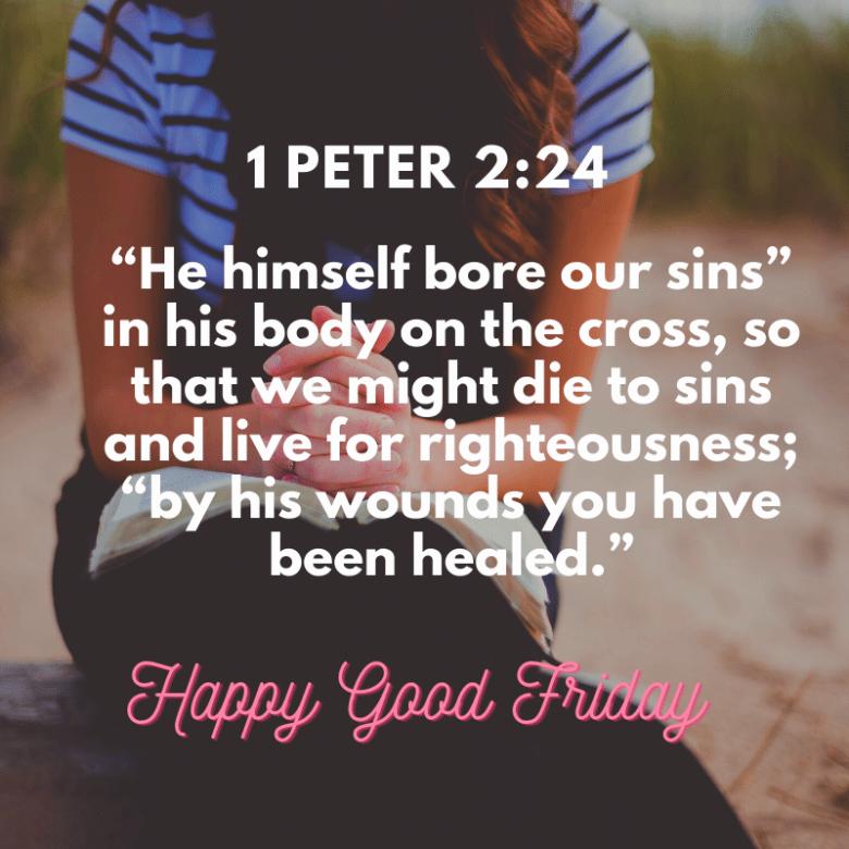 Good friday Bible verse