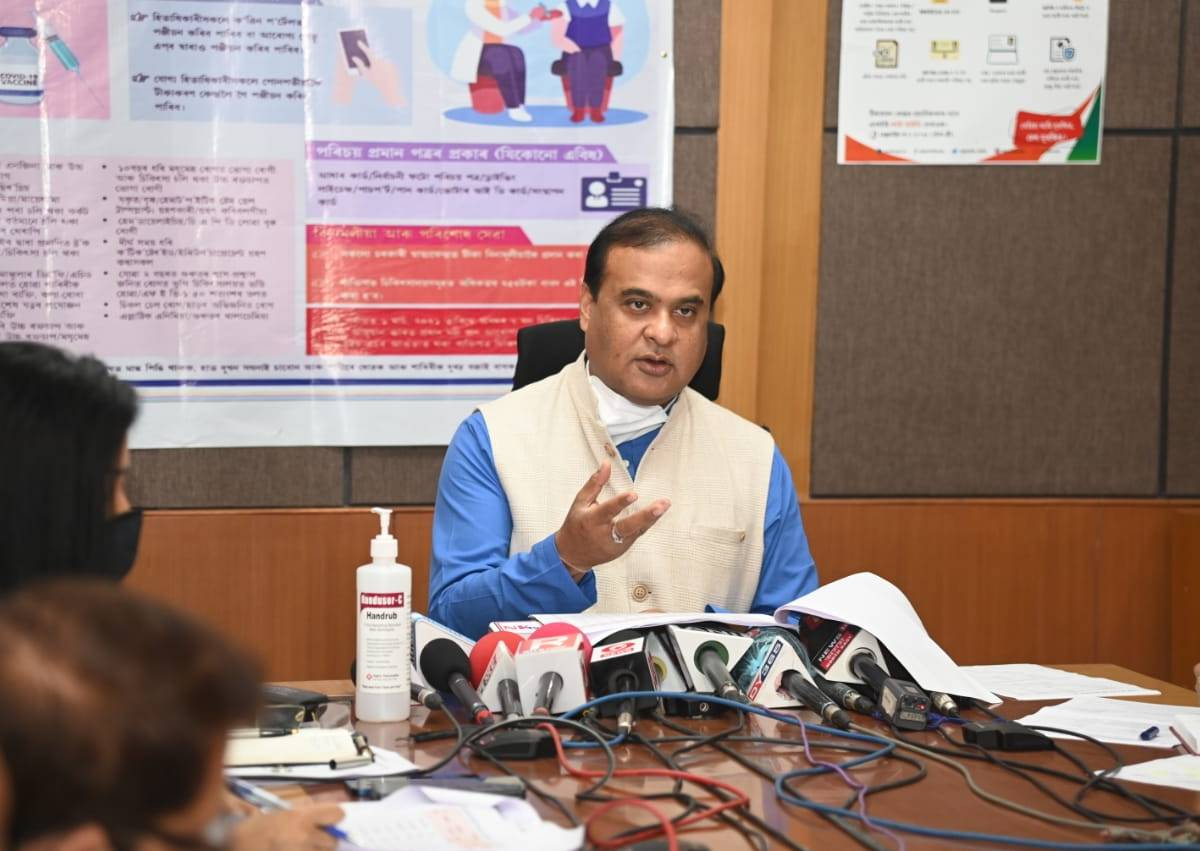Assam CM asks officials to complete flood protection schemes within May