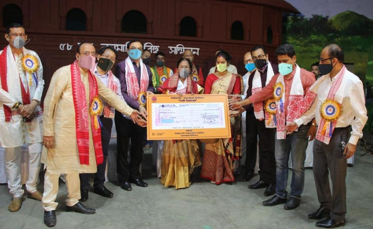 hirabala rabha Luit Gaurab award