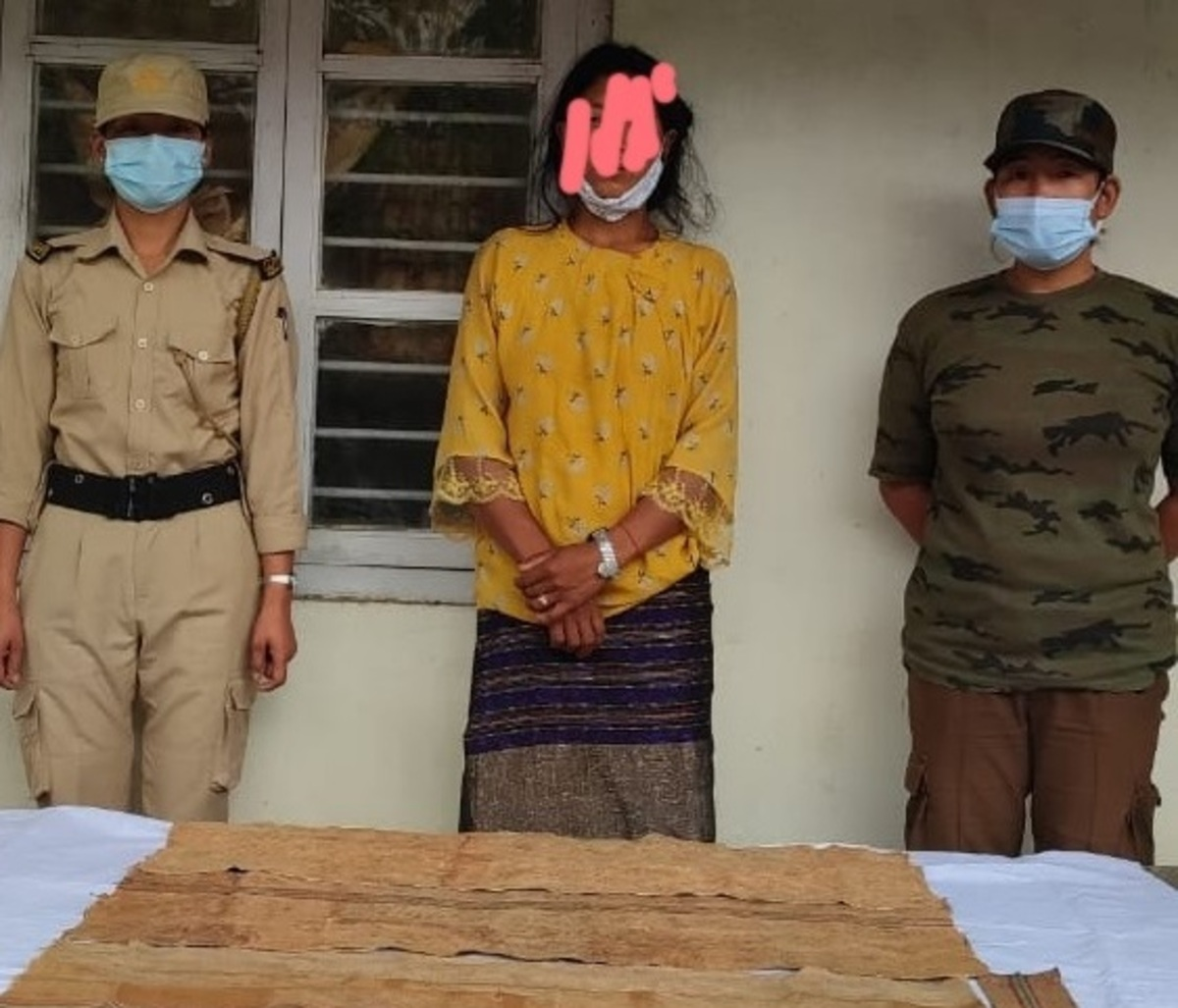A woman held in connection with a drugs seizure case in Arunachal Pradesh's Tirap district