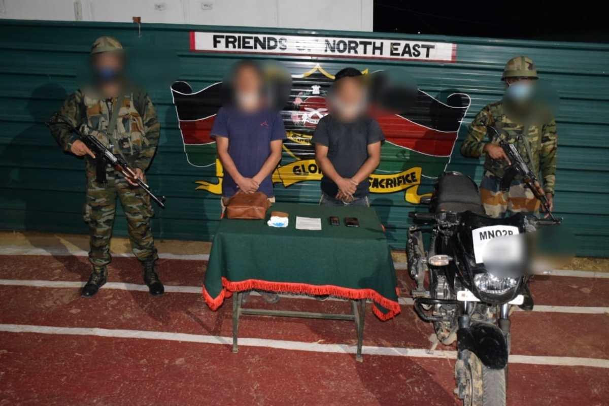 Manipur: 2 militants of UKLA (MC) arrested in Churachandpur