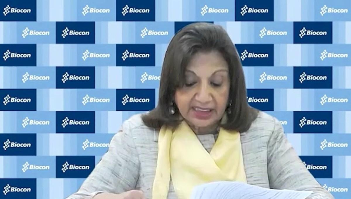 Biocon Kiran Mazumdar Shaw