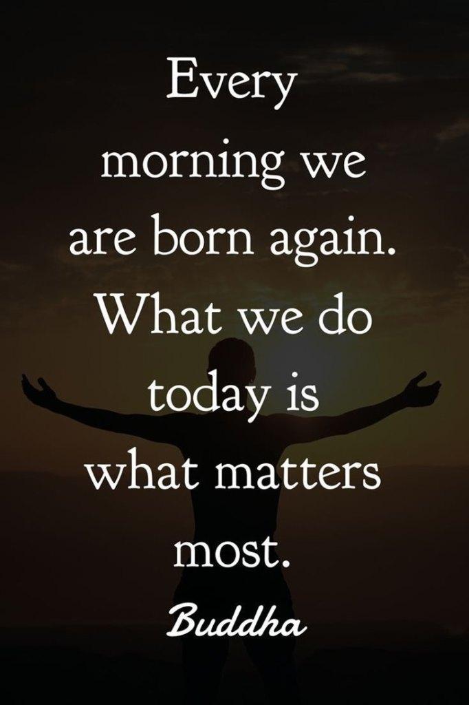Buddha morning quotes