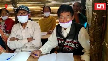 Watch how lockdown became 'school time' for elders of this Kamjong village