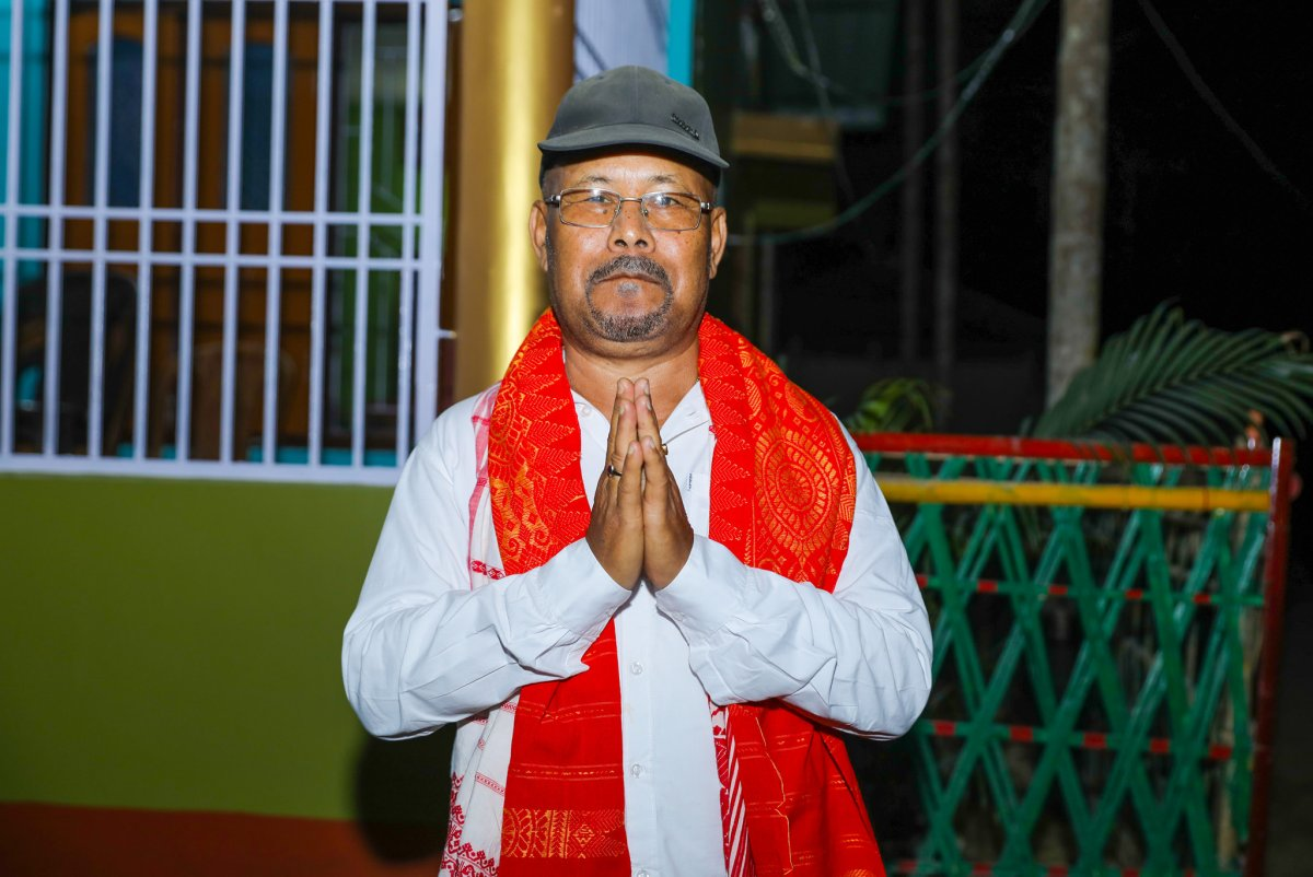 Tamulpur MLA Leho Ram Boro dies