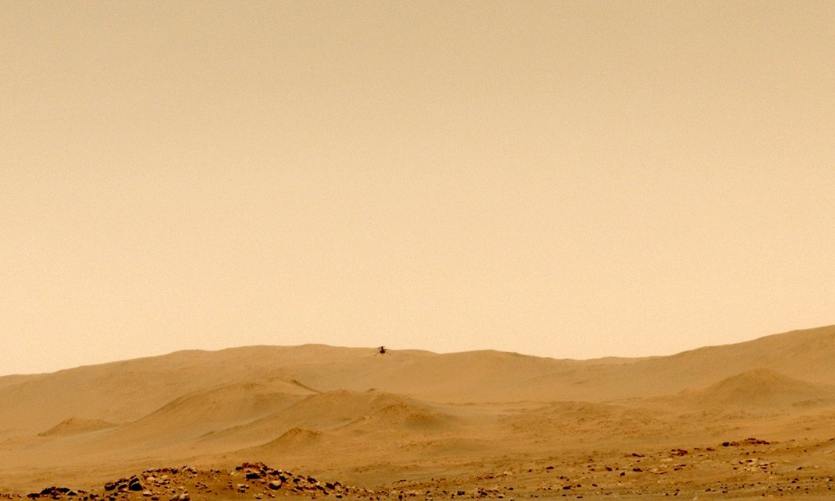 After the amazing pictures and video, NASA is now sharing sounds of its little helicopter humming through the thin air on Mars.