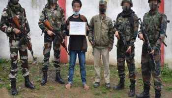 Arunachal: Security forces apprehend active NSCN-KYA cadre in Longding district