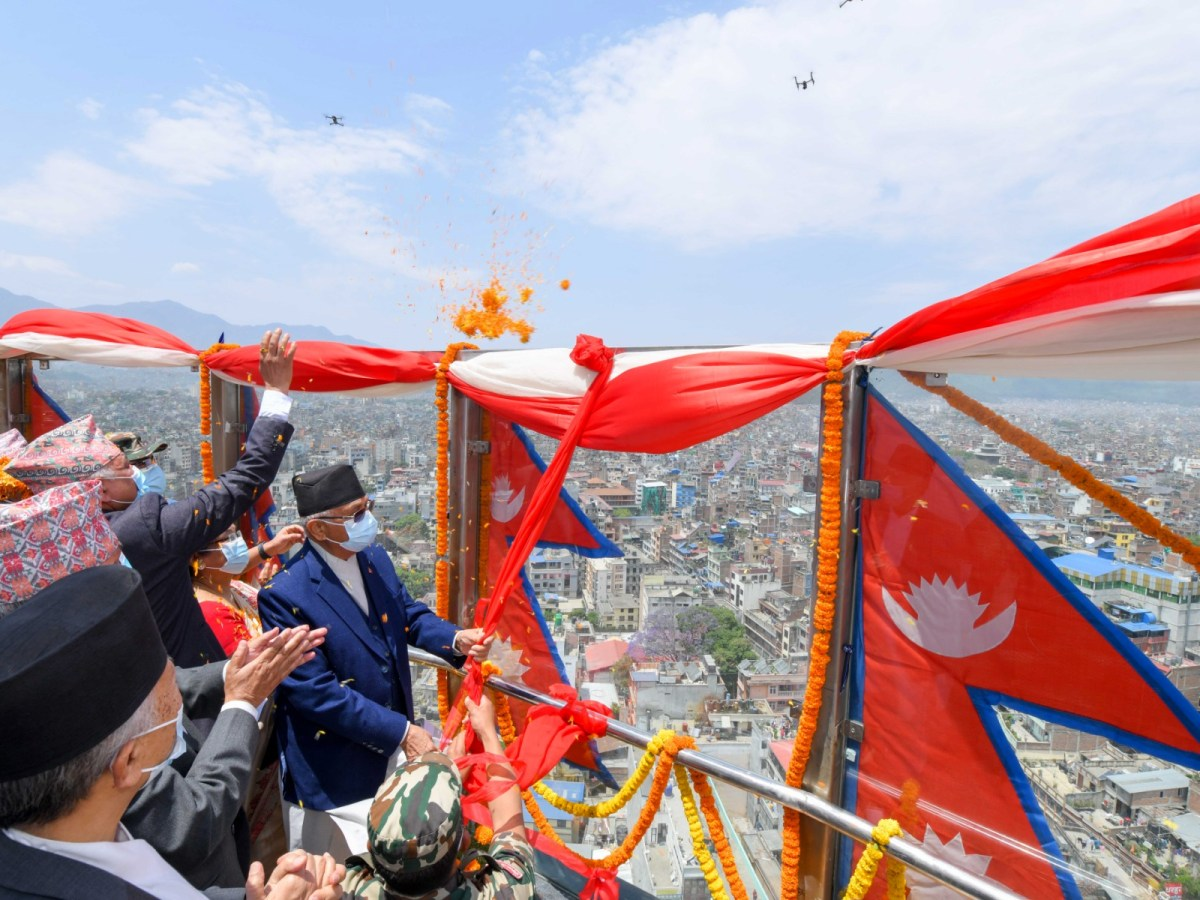 Oli sworn in as Nepal Prime Minister; retains previous Cabinet