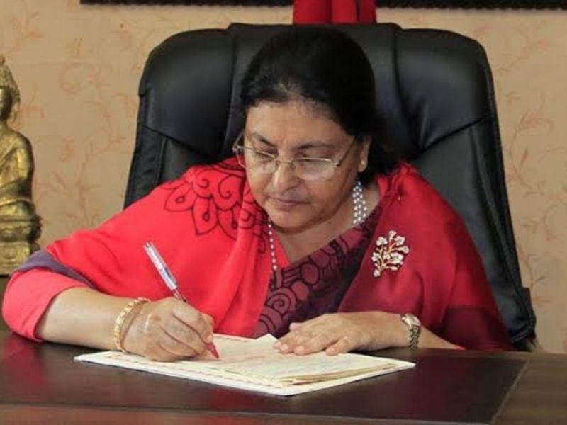 Nepal president dissolves Parliament; announces mid-term polls in November