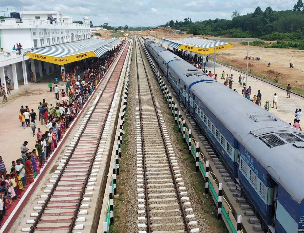 Assam train services