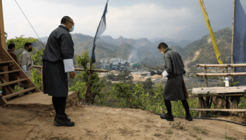 Bhutan King visits Motanga Industrial Park, wants oxygen units to be supplied to India