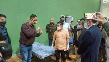 Sikkim sets up multiple COVID-19 care centres, CM takes stock
