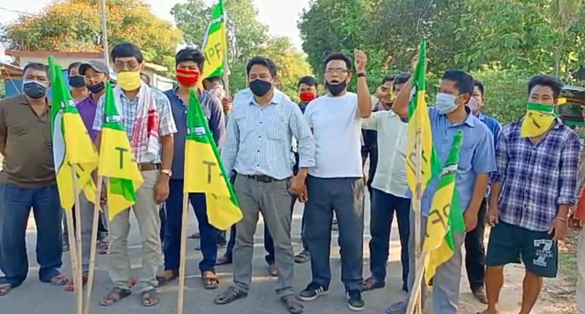 Tripura: 24-hour strike called by IPFT underway in tribal council area