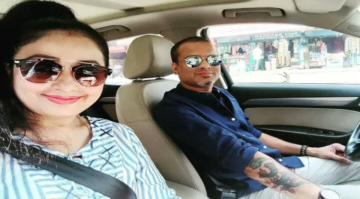Zubeen Garg and his wife