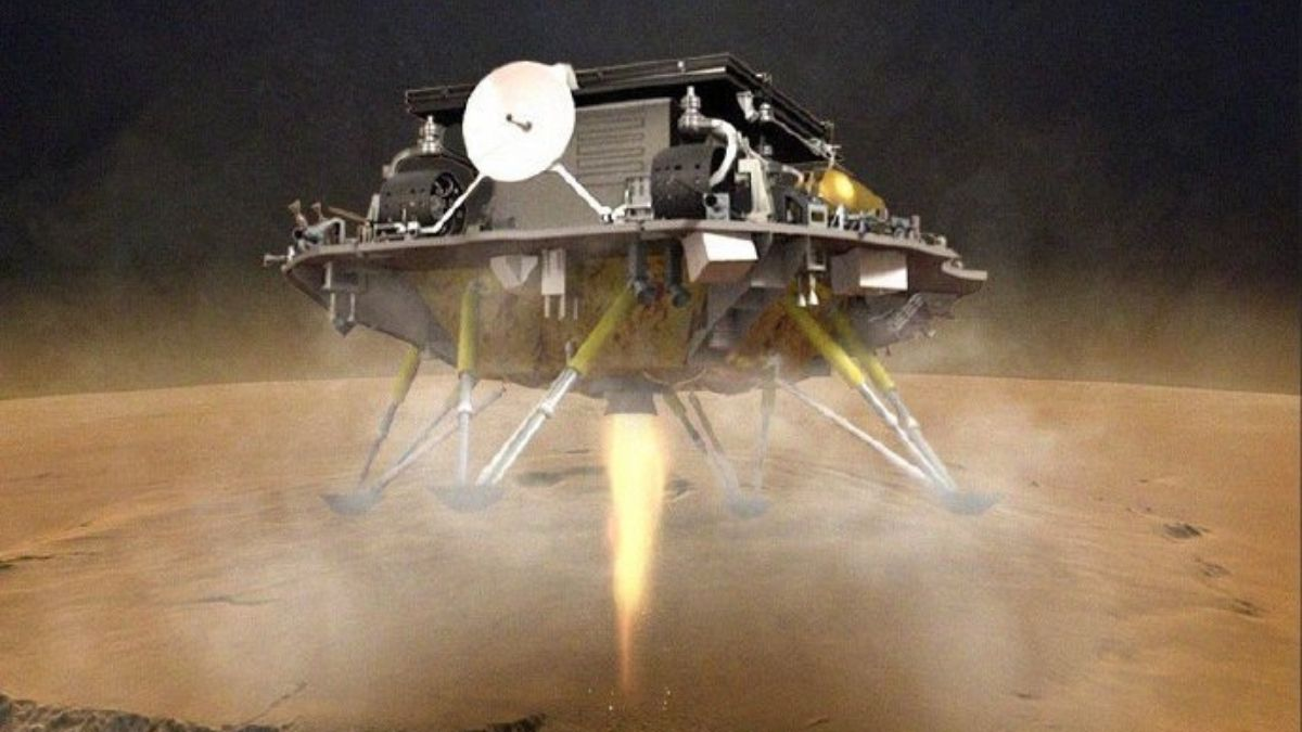 China's 1st Mars rover steps out to explore red planet