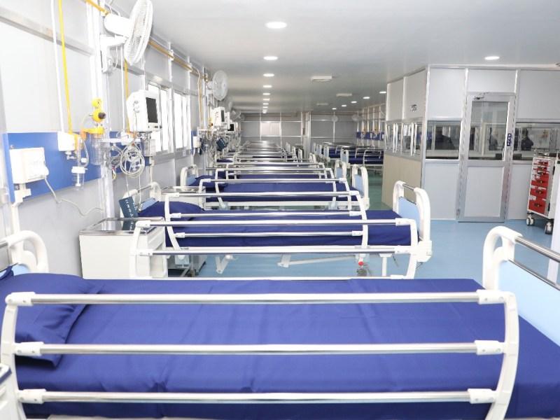 Manipur: Raj Medicity upgrades COVID-19 ward into 100-bed facility