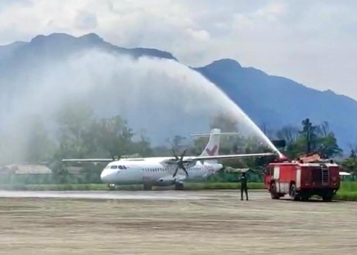 FlyBig commences Guwahati-Pasighat flight service