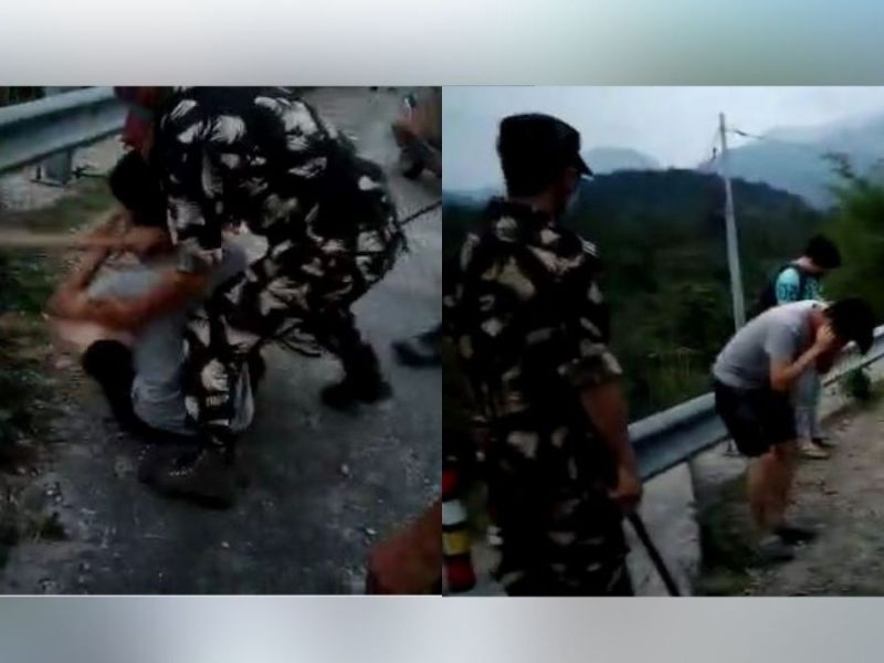 Watch: Medical student roughed up in Pasighat over COVID-19 SOP