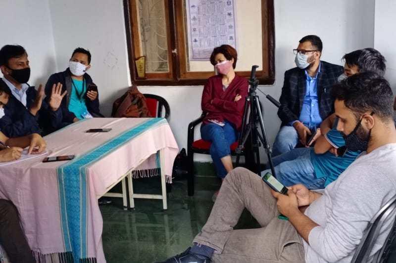 sikkim journalists