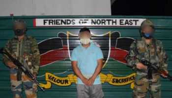 Manipur: Assam Rifles troops apprehend PLA militant in Churachandpur