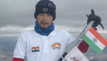 Abraham Tagit Sorang scales Mt Everest, becomes 2nd from Arunachal