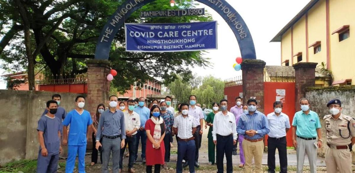 Manipur: 100-bed COVID-19 care centre inaugurated in Bishnupur, 2nd in district