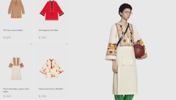 Gucci roasted for selling embroidery kurta for 2.5 lacs, cultural appropriation