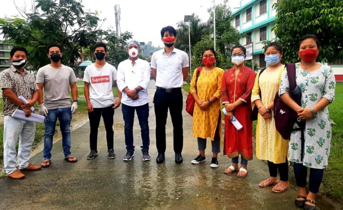 Arunachal youth forum helps students with stationery amid COVID-19