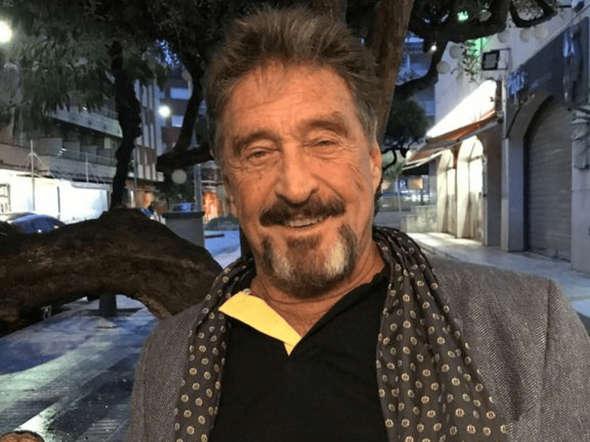 John McAfee of McAfee antivirus found dead inside his prison cell