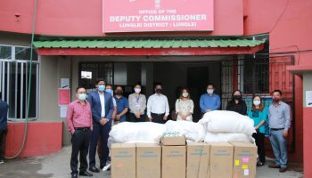 COVID-19: Lone Mizoram district receives outside aid