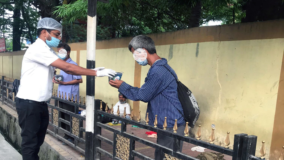 Guwahati's Oriental Bistro sated the hunger of the needy amidst pandemic