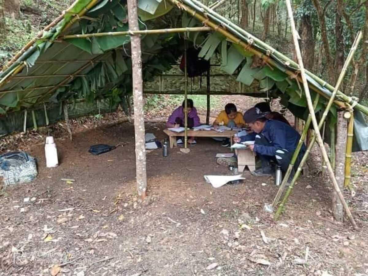 Online exams & poor internet: Mizoram student bodies set up hilltop huts