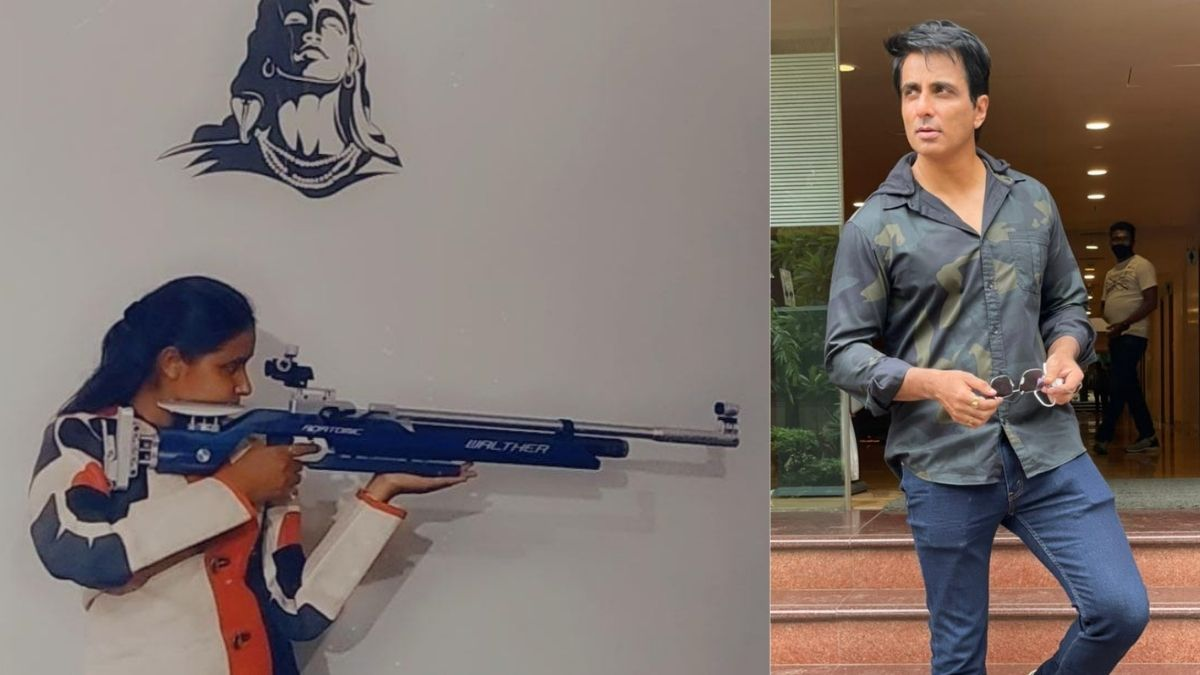Sonu Sood gifts rifle to struggling Jharkhand shooter