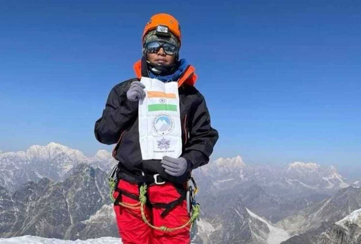 Manita Pradhan becomes third woman from Sikkim to scale Mt Everest