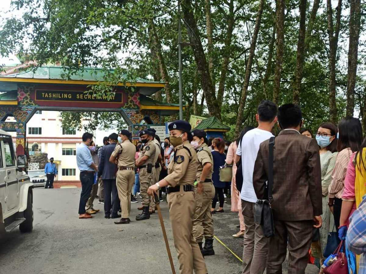 Sikkim: Ad hoc teachers protest move to re-conduct interview for appointment