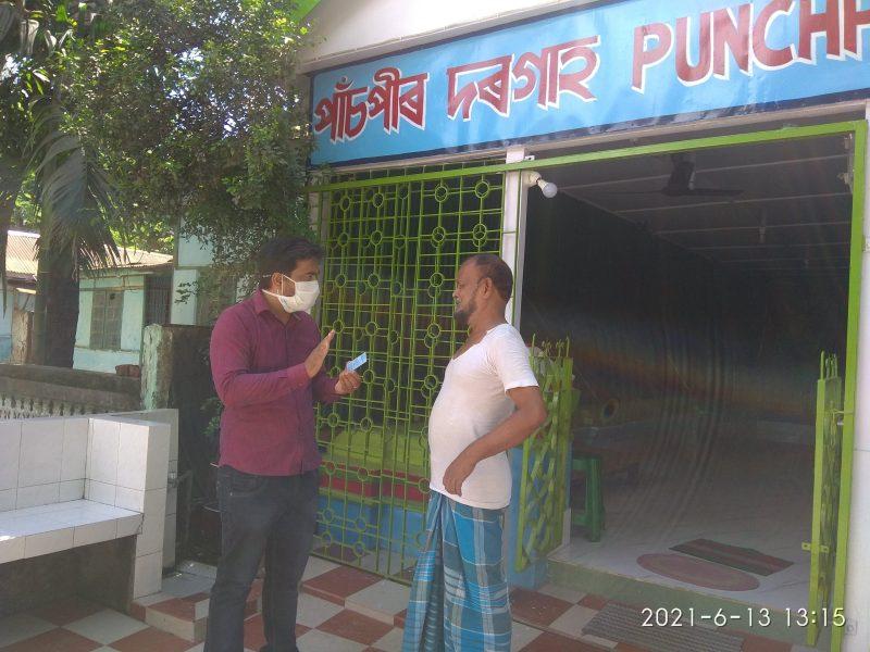 COVID-19: Assam's 'vaccine man' goes door-to-door to create awareness