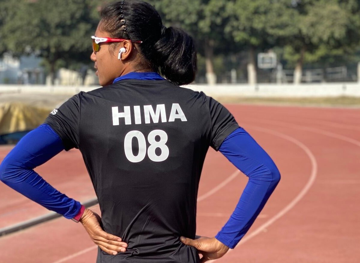 The severity of Hima Das's injury could not be ascertained