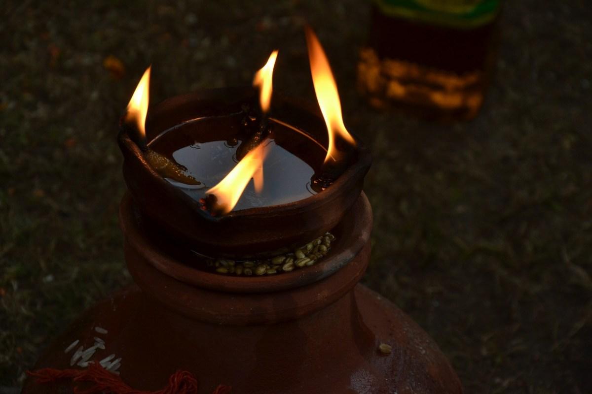 Assam village lights 4,444 earthen lamps for COVID-19 victims