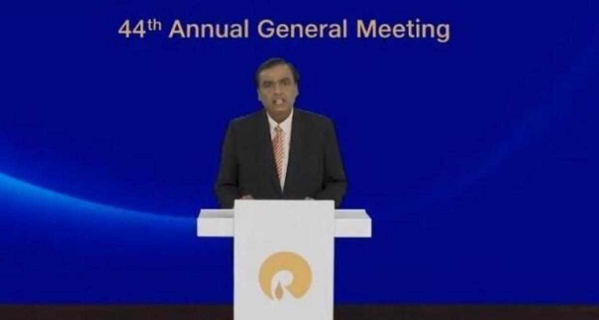 Mukesh Ambani announces Rs 75,000 cr investment in clean energy