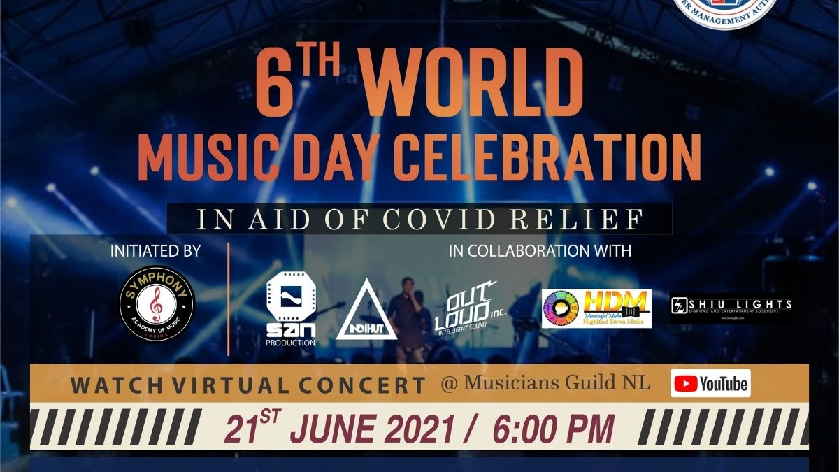 Musicians Guild Nagaland to raise funds for COVID-19 relief on World Music Day