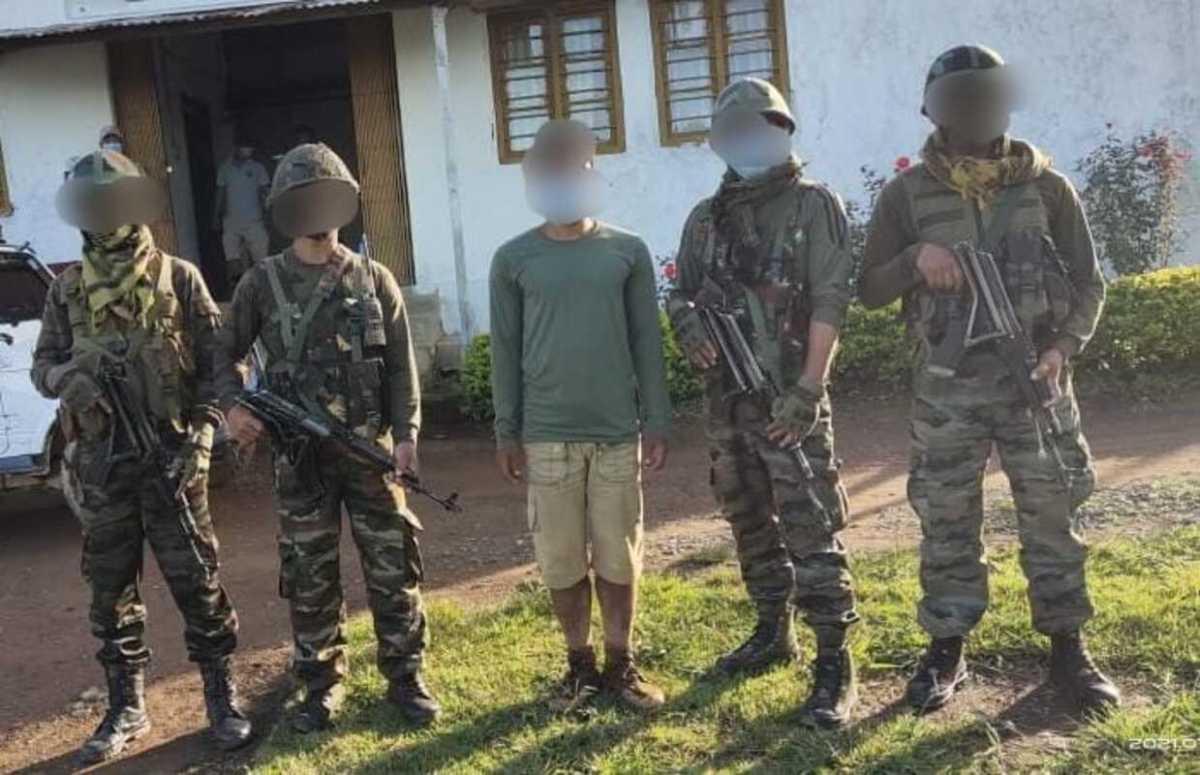 2 militants belonging to PREPAK, PLA arrested in Manipur
