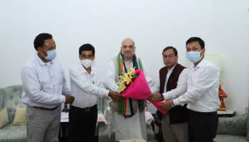 Tripura: Ruling BJP's ally IPFT meets Amit Shah, demands separate 'Tipraland'