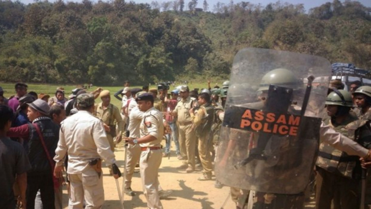 Assam says Mizoram tried to construct bridge in its territory, stopped