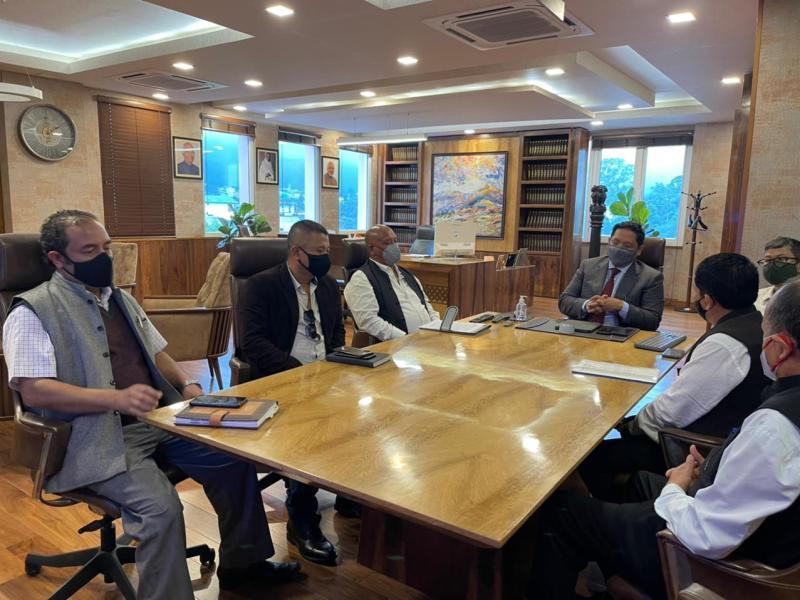 Meghalaya: Ruling MDA coalition partners' meeting underway in Shillong