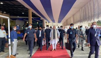 Meghalaya: Union home minister Amit Shah inaugurates ISBT in Shillong