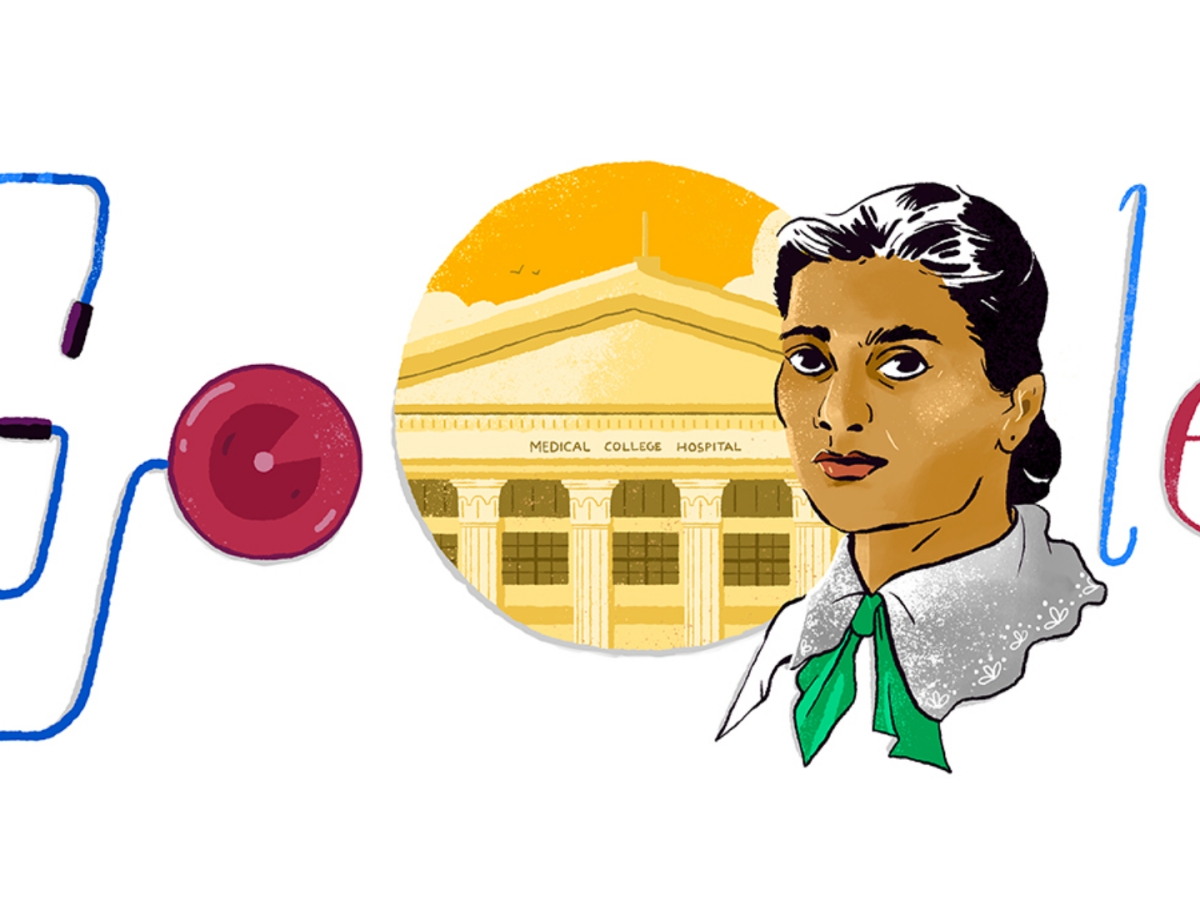 Today's Google doodle: A tribute to Kadambini Ganguly