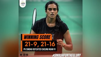 Tokyo Olympics: Sindhu beats Cheung in straight games, enter pre-quarterfinals