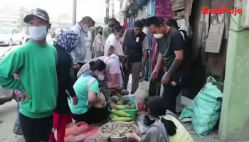Watch: Panic buying, long queues in Imphal ahead of 10-day lockdown